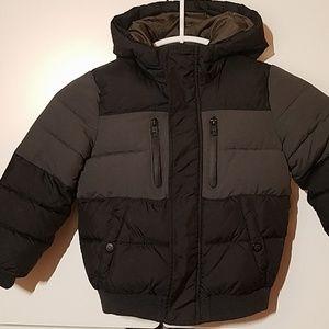 Zara boy soze 5 110 gray/ charcoal coat jacket